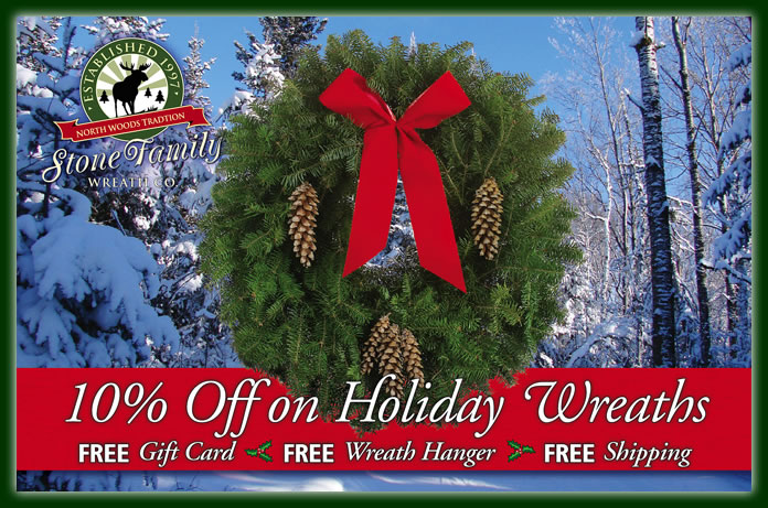 Fresh Christmas Wreaths.Buy Fresh Christmas Wreaths Free Shipping Cloquet Mn