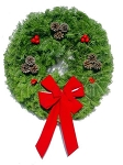 Simple Elegance Christmas Wreath (25